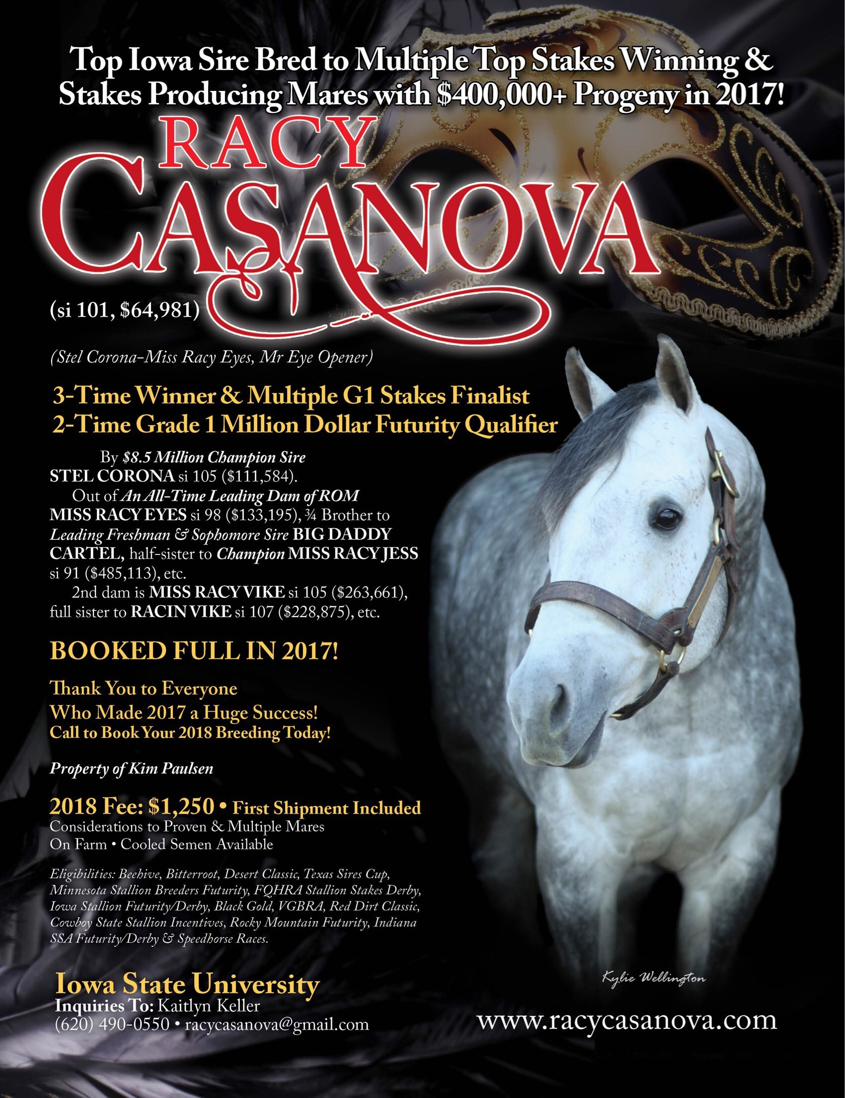 RACY CASANOVA STANDING AT ISU